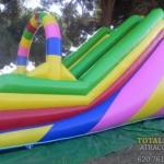 Castillo Hinchable Rampa Multicolor