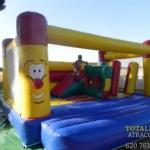 Castillo Hinchable Multi Obstaculos