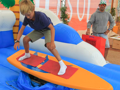 Tabla de Surf Mecánica